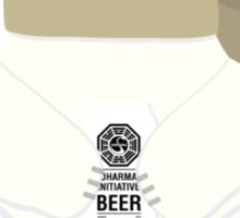 LOST Dharma Polar Bear Holidays Sticker