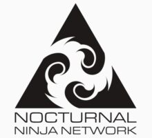 Nocturnal Ninja Network - Black by Defstar