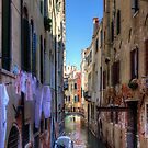 Washday in Venice by Tom Gomez