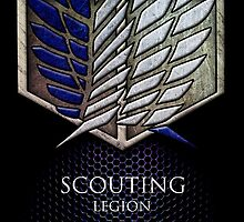 Attack on Titan Scouting Legion iphone case by Tru7h