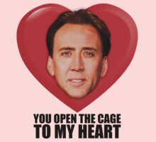Nicolas Cage - You Open the Cage to My Heart by glucern