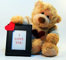 Bubby Bear Loves You by Annette Pora