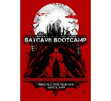 Batcave Bootcamp (Red) Photographic Print