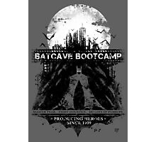 Batcave Bootcamp (Gray) Photographic Print
