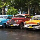 Cuban Cars by gleadston