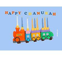 Chanukiyah Greeting Card Photographic Print