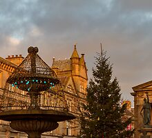 Elgin, High Street, Christmas 2013 by JASPERIMAGE
