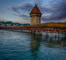 Kapellbrucke by Adam Northam