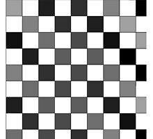 Greyscale Checkers by kltj11