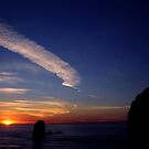 CANON BEACH SUNSET~ by RoseMarie747
