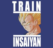 Train Insaiyan - Vegeta by irig0ld