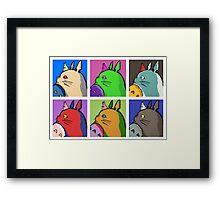My Neighbor Totoro - Pop Framed Print