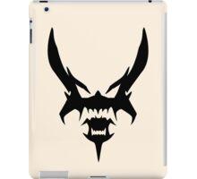 Akumetsu - Black iPad Case/Skin