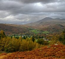 Scafell from Eskdale by VoluntaryRanger