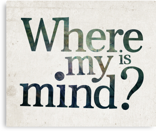 Where is my mind? by thebrink