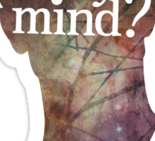 """""""Where is my mind?"""" Two Sticker"""