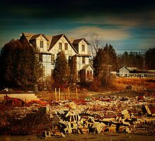 Tamarack Lodge Remains by PineSinger