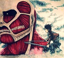 Attack on Titan by thesunrisemassa