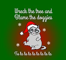 Wreck the tree and blame the doggies case by artemisd