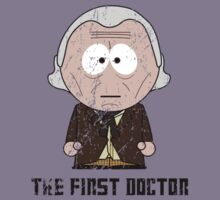 The First Doctor - Doctor Who (South Park) by robotplunger
