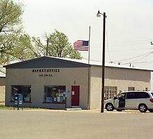 Route 66 - San Jon Post Office by Frank Romeo