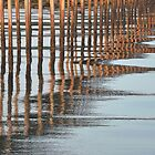 ripples beneath the jetty by Leone