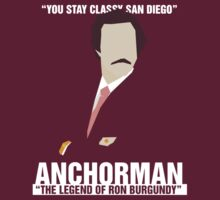 Anchorman 2 - Stay Classy  by kelvclothing