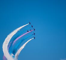 Red Arrows on display by DarlyB