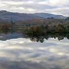 Rydal Water Panorama by VoluntaryRanger