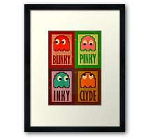 Blinky, Inky, Pinky and Clyde Framed Print