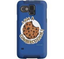 Cumbercookie of the Cumberbatch! Samsung Galaxy Case/Skin