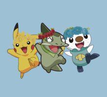 Pokemon Pals In Flower Crowns by Ashleymariewwe