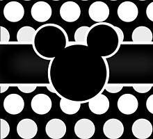 Mickey Mouse Polka Dot by ChandlerLasch
