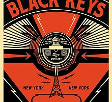The Black Keys Poster by r3ddi70r