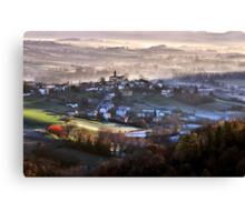 Italy - Monferrato Canvas Print