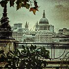 London autumn morning by bbswedge