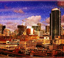 Seattle Escala Stars by stine1