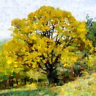 An Autumn Tree in Leonid by Dennis Melling