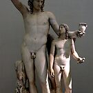Dionysus and Eros by magiceye