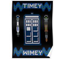 Timey-Wimey Xmas Poster