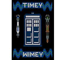 Timey-Wimey Xmas Photographic Print