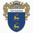 Cervantes Coat of Arms/Family Crest by William Martin