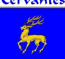 Cervantes Coat of Arms/Family Crest Sticker