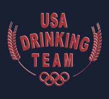 USA Drinking team by LilCurious