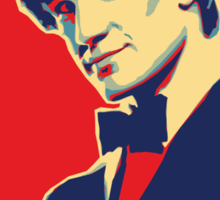 Matt Smith Hope Sticker