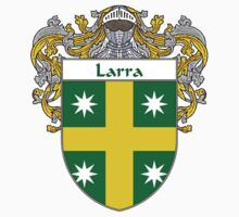 Larra Coat of Arms/Family Crest by William Martin