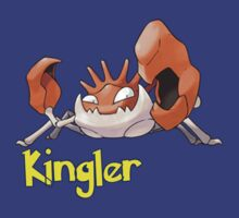 Kingler Typo by Stephen Dwyer