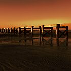 Colorful Pier by Madeline McDonald