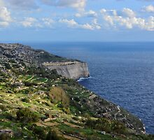 Dingli Cliffs by sgrixti
