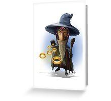 Magnalf Greeting Card